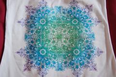 brightness (foundinaforest) Tags: design bright top kaleidoscope gradient mirrorimage psychedelic
