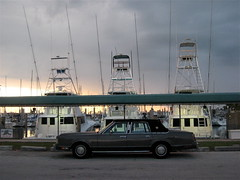 Boats & Car, Virginia Key Miami (ChrisGoldNY) Tags: travel cars boats forsale florida miami albumcover fl bookcover yachts miamibeach magichour southflorida miamidade virginiakey chrisgoldny chrisgoldberg chrisgold chrisgoldphotos