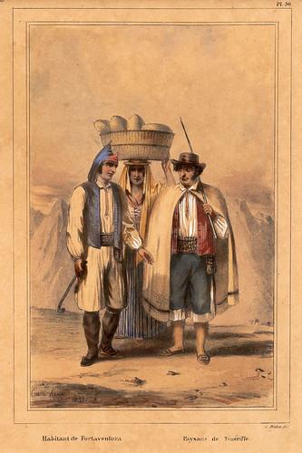 026-Habitantes de Fuerteventura y campesinos de Tenerife
