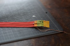 Zipper Insertion Tutorial step #3