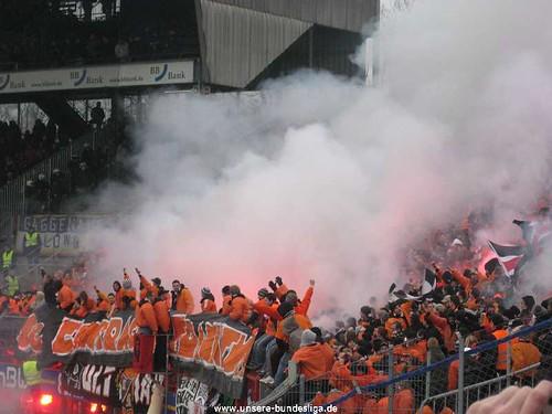 Ultras Frankfurt in Karlsruhe