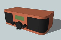 Wifi Radio Enclosure - Google Sketchup Model