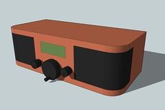 Wifi Radio Enclosure - Google Sketchup Model
