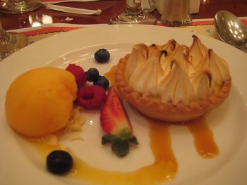 Lemon Tart at Chefs de France Epcot