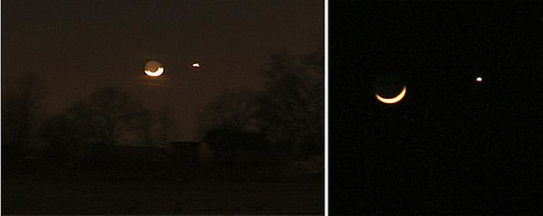 moon saturn diptych