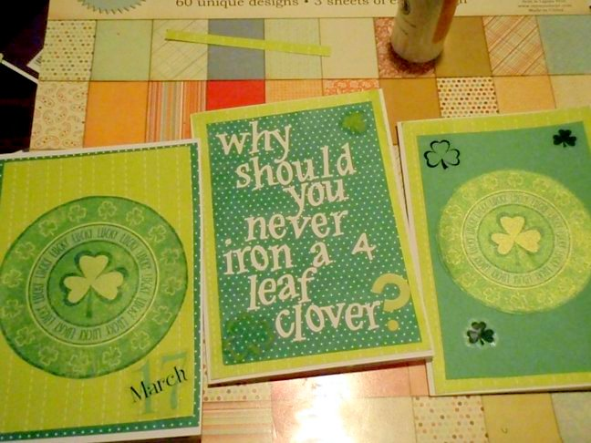 st. patty's day cards