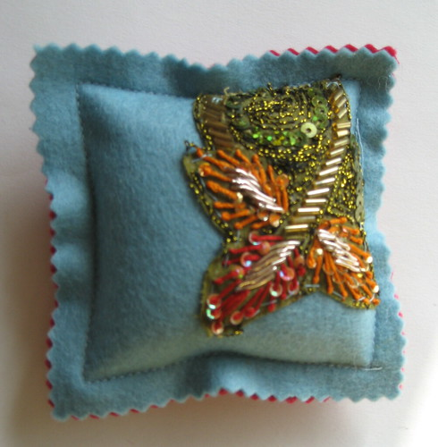 pin cushion by jantze tullett.