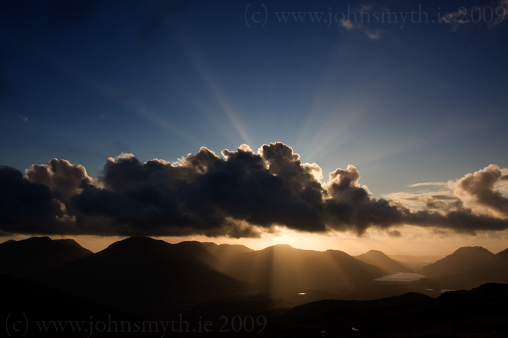 Sunset in Connemara