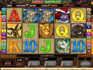 Mega Moolah slot game online review