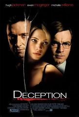 Deception carte película