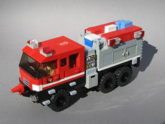LEGO S&S Wildland Ultra XT (2) (Dunechaser) Tags: fire xt lego ss engine fireengine ultra brushfire wildfire sdfd tatra wildland sandiegofiredepartment