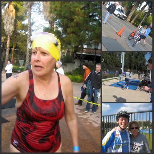Sue Baker Iron Bruin Triathlon 2009