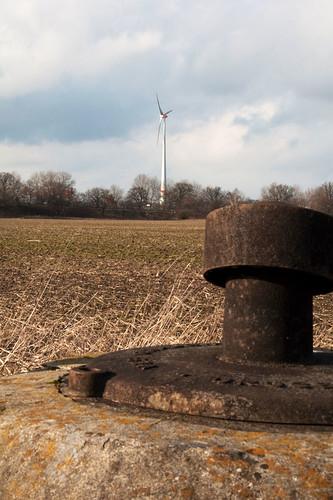das einzige Windrad von Berlin