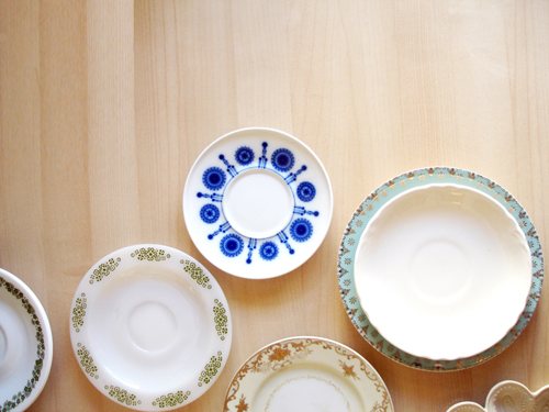thrift finds: plates.