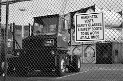 Nikon N80 Test - Hard Hats (django.malone) Tags: camera test white canada black colour sign st newfoundland 50mm glasses nikon all boots kodak harbour hard hats it safety iso negative 400 worn be works and to times af vests f80 nikkor f18 n80 johns containers 加拿大 bw400cn at 纽芬兰 圣约翰斯