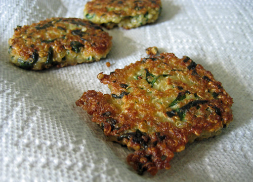 ... Kitchen » Blog Archive » Quinoa Cakes with Spinach and Goat Cheese
