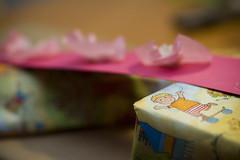 Cadeautjes en verjaardagskroon