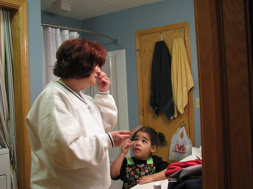 Makeup with Grandma