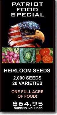 2000 Heirloom Seeds