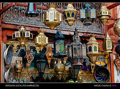 ARTESANA LOCAL (FEZ. MARRUECOS) (Miguel_CD) Tags: morocco fez maroc souk medina marruecos souq artesana zoco fs 24105l 5photosaday eos40d