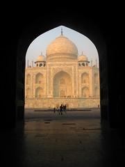 Sunrise at the Taj Mahal