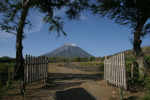 Beautiful views all over on Isla Ometepe, Nicaragua.