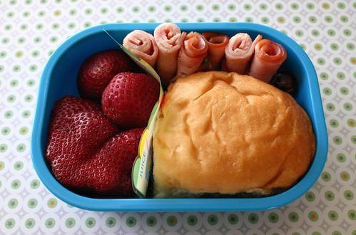 Preschooler Bento #158:  March 24, 2009