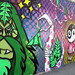 NJ - Jersey City: Ron English x Jason Maloney x Bigfoot Collab Mural