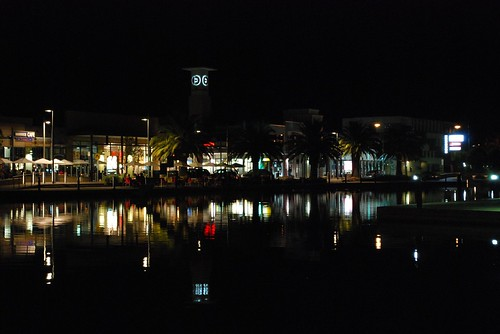 Earth Hour in Mawson Lakes