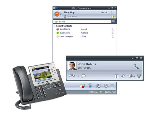 Unified Communications Integration with Microsoft Office Communicator