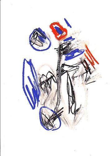 TUTTE LE OPERE SONO 30X21CM  olio su carta da Barabba L'artista Contemporaneo??.
