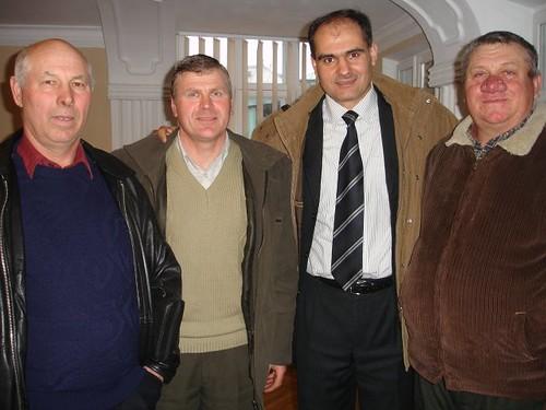 Vizita la Biserica din Corjeuti (1 Aprilie 2009)