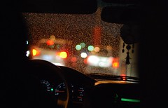 ([  //  QTR) Tags: street car rain weather lights blurry bokeh awesome p toot albandri kassim eljooj sb7anallah 8asem jamh skaan
