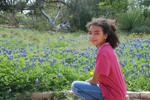 Leah and the Blue Bonnets by you.