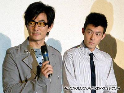 Richie Ren and Edison Chen