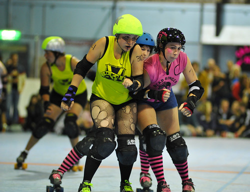 Roller Derby by Wintrmute