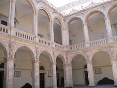 """Catania - Chiostro antica """"Università di Catania"""" (Luigi Strano) Tags: italy travels holidays europa europe italia trips sicily catania sicilia vacanze"""