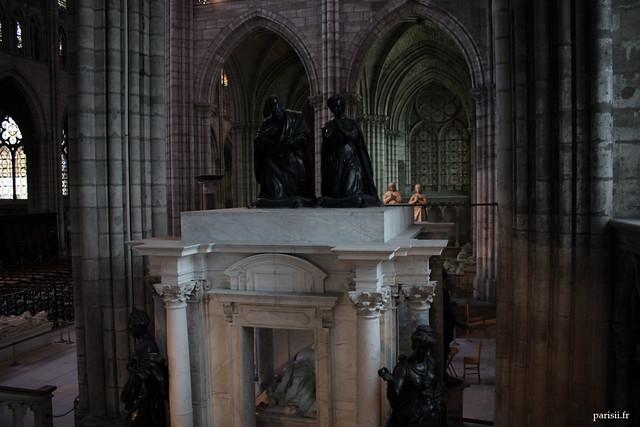 Tombeau de Henri II et Catherine de Médicis