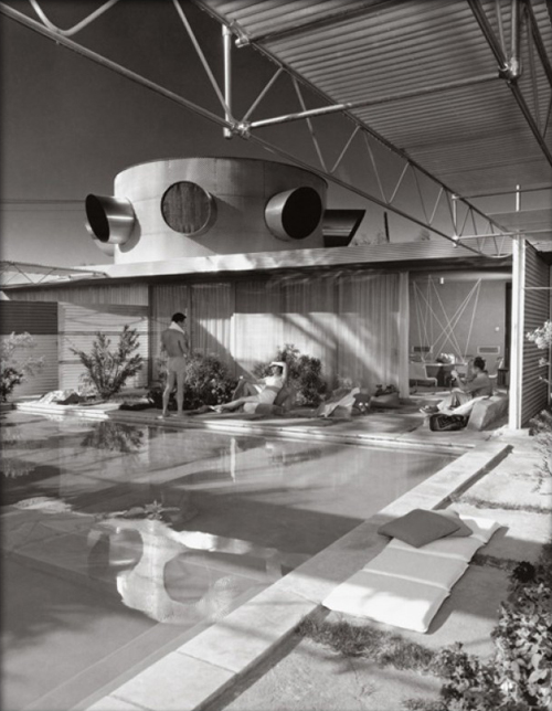 Albert Frey, Frey House, Palm Springs, photographed by Julius Shulman