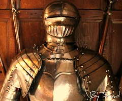 Iron warrior - Warwick Castle - Birmingham (Saad Al-Enezi) Tags: uk england castle birmingham nikon iron warrior d100 saad warwick beautifulexpression alenzisaad ashowoff