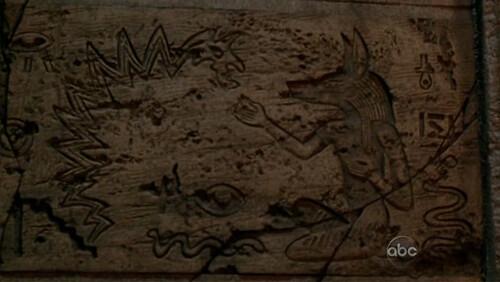 jeroglífico en Lost