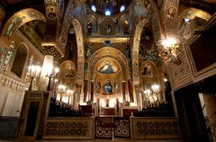 Palermo - Cappella Palatina (Tschechoslowakische Ausschussware) Tags: italien italy bike bicycle italia mosaic sicily palermo fahrrad sicilia sizilien cappellapalatina