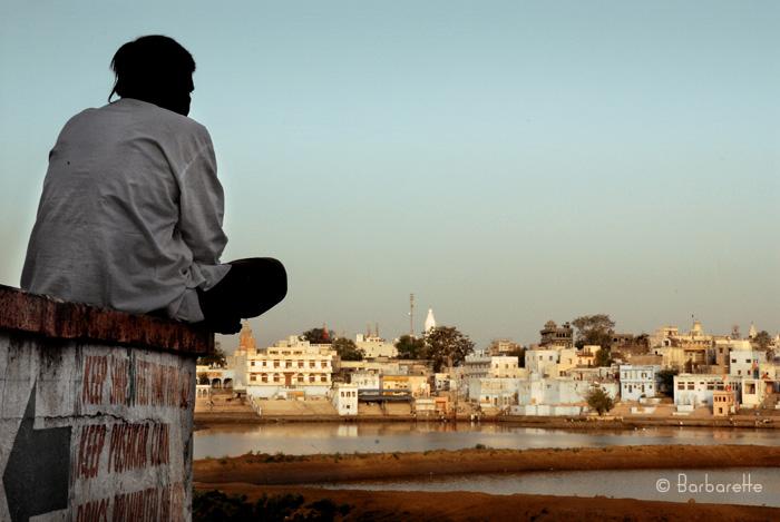 Pushkar's sunrise