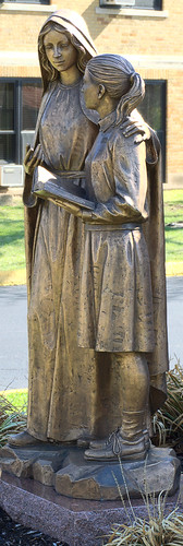 Incarnate Word Academy, in Bel-Nor, Missouri, USA - statue