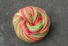 Melonhead on aran wt BFL- 3.5 oz