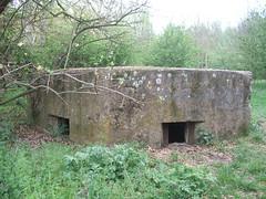 Pillbox, RAF Hornchurch ( Claire ) Tags: river ww2 spitfire ww1 turret raf airfield pillbox aerodrome hornchurch battleofbritain epen ingrebourne tett rafhornchurch type22pillbox suttonsfarm