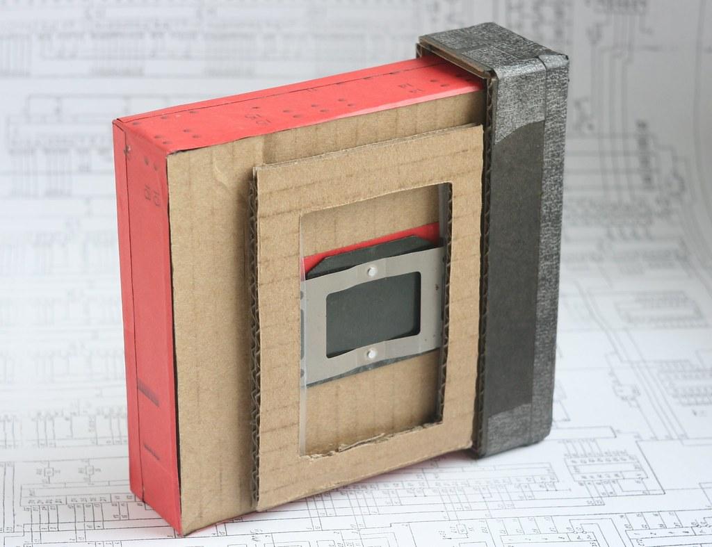 Cardboard 9x12 Pinhole Camera