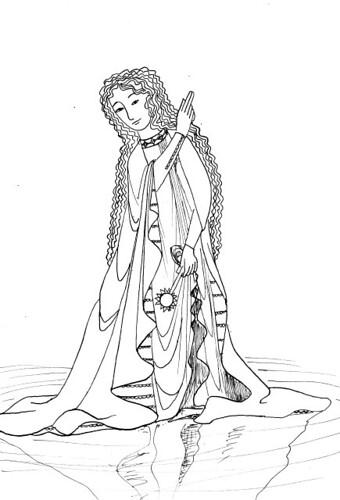 Manesse Tarot - 21 The World