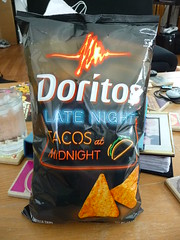 Tacos at Midnight Doritos