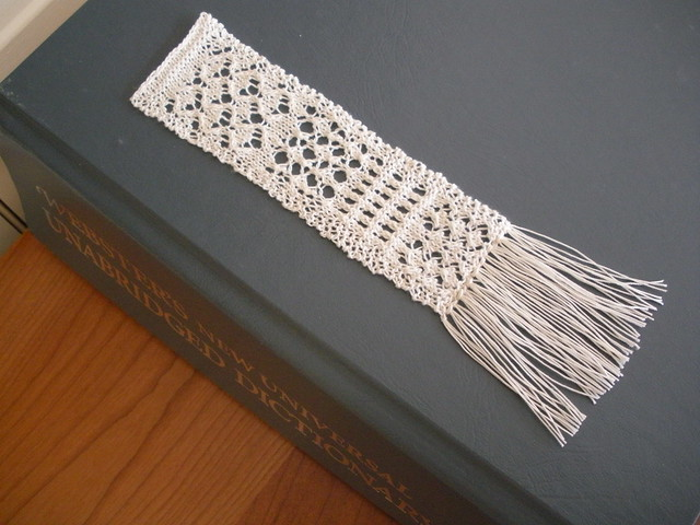 Ravelry Knit A Lace Bookmark Pattern By Ava T Coleman
